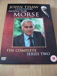 Inspector-Morse-Complete-Series-2-Four-Disc-Set-Genuine-UK-Region-2-DVDs