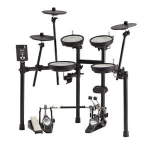 Roland Quiet Dual Mesh Snare Toms Pads Td 1dmk Electronic Drum