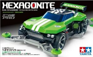 Tamiya 18653 Mini 4wd-pro Hexagonite Ma Chassis Chaud Et Coupe-Vent