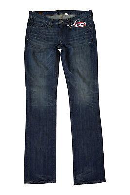 *EVISU* PRIVATE STOCK FOR MANIACS WOMEN'S STRAIGHT LEG MIHARA JEANS (W29 L34)