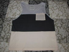 "All Saints ""Hoxton vest"" t-shirt / tee / vest  - size M Medium"