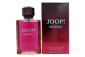 JOOP-HOMME-Eau-de-Toilette-Spray-125-ml-EdT-Neuware-in-Originalverpackung