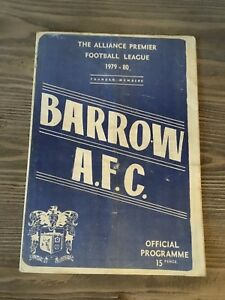 BARROW-AFC-V-SUNDERLAND-FRIENDLY-JIMMY-MULVANEY-TESTIMONIAL-1979-80