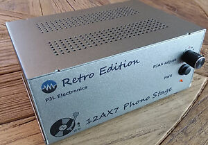 Details about Retro Phono Stage - All tube Phono Preamp with feedback RIAA  EQ