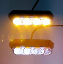 LED Blitzer Warnleuchten  Gelb / Orange LDO 2258 / Blitzlicht / LKW / PKW
