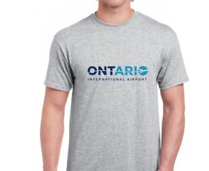 Ontario-International-Airport-Tee-shirt-San-Bernadino-IE-California-Gray-T-Shirt