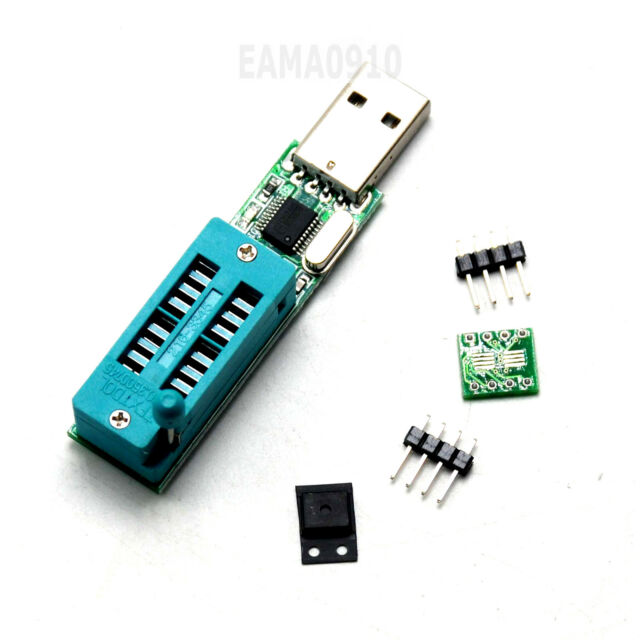 24cxx 24lcxx Programmer EEPROM Reader Writer 24c02 SOP to DIP Block USB Port
