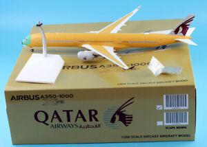 Details about JC Wings 1:200 Qatar Airways Airbus A350-1000 Diecast  Aircraft Model Reg#F-WZNR