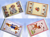 Dolls House Printed Cotton Nursery Rug 1/12 scale Miniature choice of 14 designs