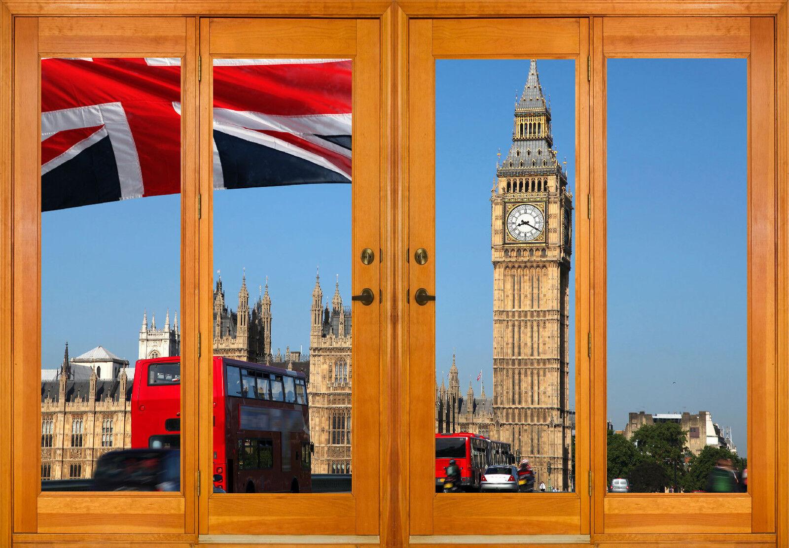 Aufkleber Fenster Schein Auge Londres Ref 2535 (10 Größe)