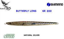 VERTICAL JIG SHIMANO BUTTERFLY LONG GR 200  NS NATURAL