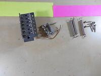 Chrome Tremolo Bridge Fits MIM Fender Stratocaster Strat 6 Screw Full Block