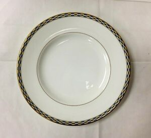 Image is loading ROYAL-WORCESTER-034-FRANCESCA-GOLD-034-SALAD-PLATE- & ROYAL WORCESTER