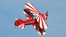 1/4.4 Scale PITTS SPECIAL scratch build R/c Plane Plans & instruction  52 in.WS
