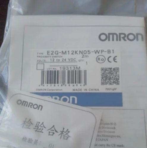 Frt   NEW Omron Proximity Switch E2G-M12KN05-WP-B1 10-30VDC 2M