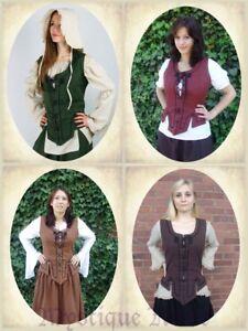 5 Farben LARP und Trachten Bluse für Mittelalter