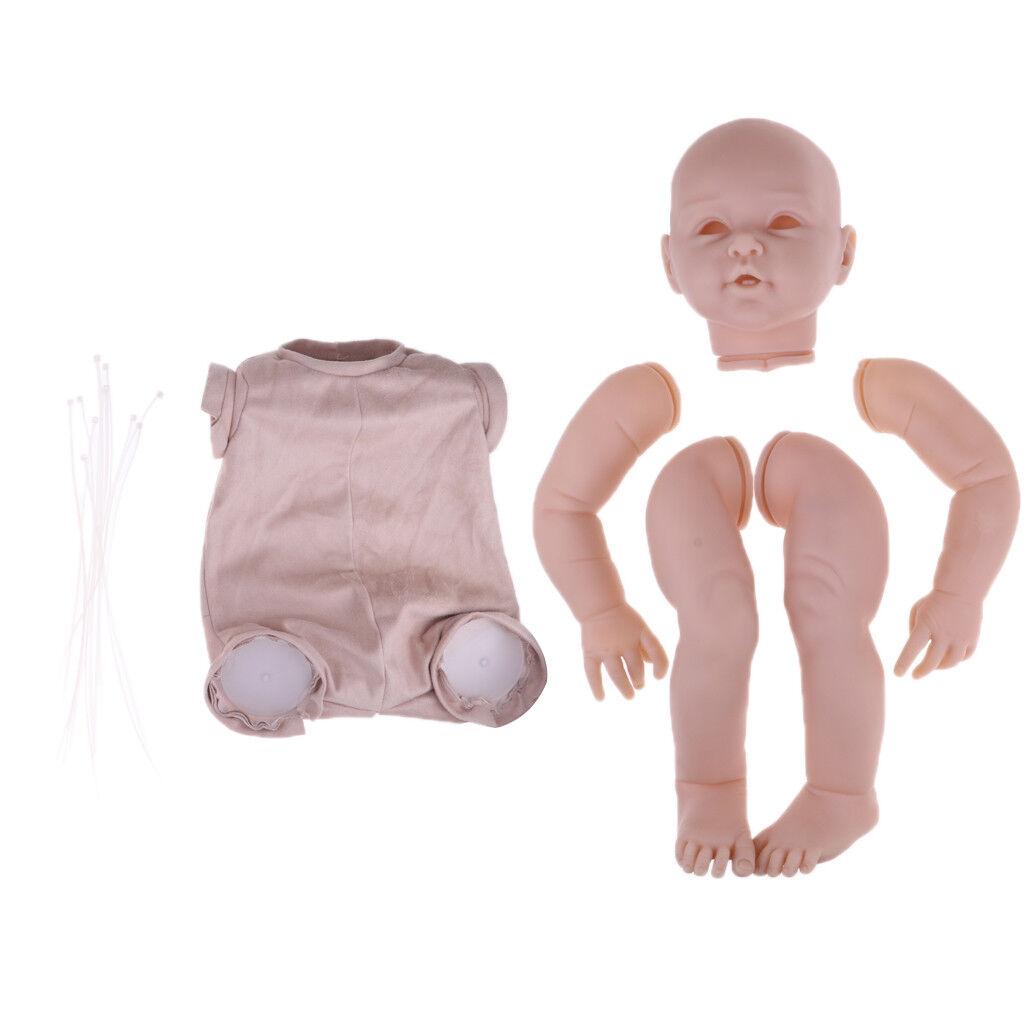 29  NON VERNICIATA grandi Reborn un arto e panno corpo KIT Stampo in silicone baby doll fai da te