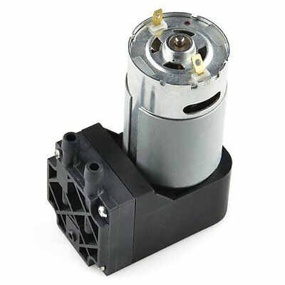 Vacuum Pump 12V Motor 12W Operation  Has Enough Suction for Most Small Projects