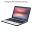 """thumbnail 3 - ASUS Chromebook C202SA-YS02 11.6"""" Ruggedized and Water Resistant Design with 180"""