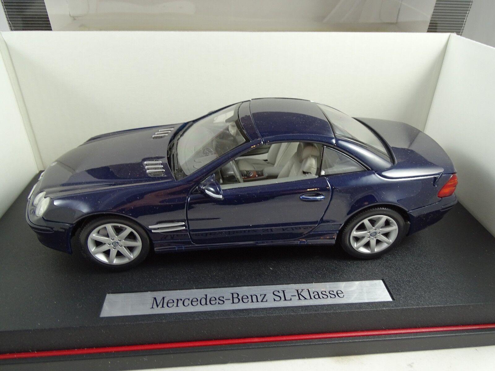 1 18 Dealermodell  B66962126 Mercedes Benz Sl-Class bluee Rarity §