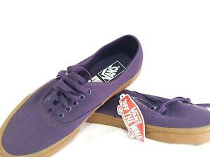 VANS-Off-The-Wall-Authentic-Purple-Skate-Shoes-Unisex-Size-Mens-US-9-Womens-10-5