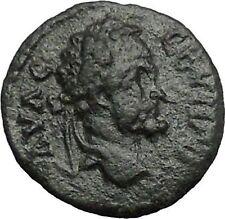 SEPTIMIUS SEVERUS 193AD Nicopolis ad Istrum MOON STARS Ancient Roman Coin i54773