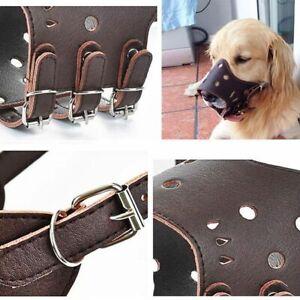 Dog-Accessories-Soft-Adjustable-Pet-Dog-Muzzle-PU-Leather-Training-Mask