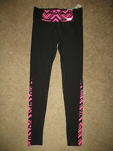Pants Secret Aztec Leggings Yoga Neon Pink Nero Xs Ultimate Nwt Victoria's 6qZxFBF