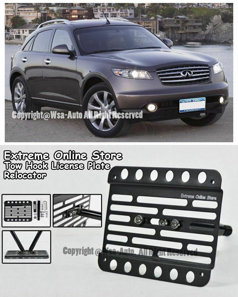 New OEM Infiniti FX35 FX45 Front License Plate Bracket 2003-2005