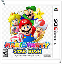3DS Mario Party: Star Rush Nintendo Party Games