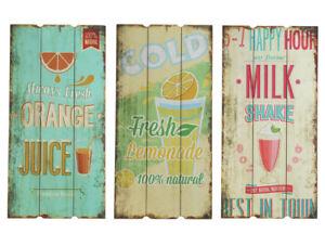 Wandschild-Plankenschild-Shabby-Stil-Tuerschild-Vintage-Wandbild-Drinks-60x30-cm