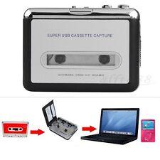 Nastro per PC USB Cassetta MP3 CD Convertitore Cattura Audio Lettore Musicale+