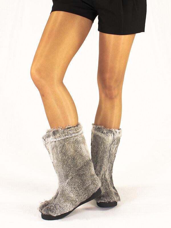 Gianmarco Lorenzi/ Renzi Fur Italian Boots New Collection Sizes 5,6,7,8,10