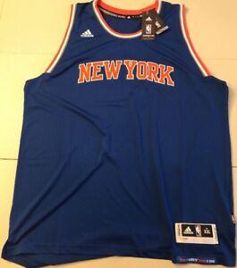 Men-039-s-New-York-Knicks-adidas-Wordmark-Swingman-Road-Jersey-2XL-XXL-NWT