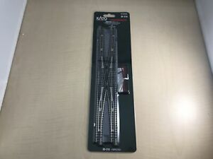 KATO-N-Scale-Double-Track-Bridging-Point-Double-Cross-20-210-Model-Train-Model