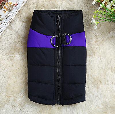 Comfortable Small Medium Large Big Pet Dog Clothes Winter Warm Vest Jacket Coat