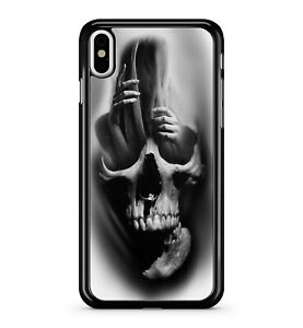 Skull-Filled-With-Spooky-Spirits-Of-The-Dead-Resurrection-2D-Phone-Case-Cover
