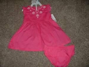 ad4aa92490ba Carters Baby Girl 3 6 Months 3M 6M Size Dress Set Pink Summer NWT ...
