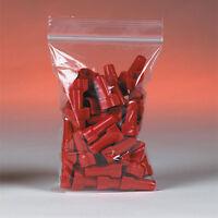 1000 Reclosable Reusable Ziplock Jewelry Plastic Fda Usda Clear Poly Bags 10x14