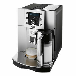 DeLonghi-ESAM-5500-S-Kaffeevollautomat-Perfecta-silber-Espresso-Coffee-Kaffee