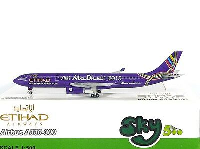 SKY500 Saudi Arabian Airlines Airbus A330-300 1:500 National Day HZ-AQE 0840