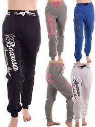 Damen Fleece Sporthose Fitness Hose Jogginghose Sweathose Freizeithose 090-5726