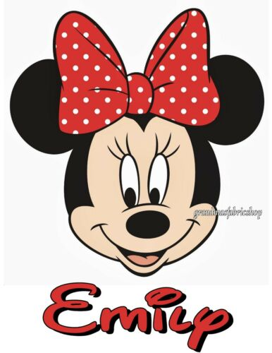 NEW Personalized Custom Minnie Mouse t shirt party favor birthday gift Add Name
