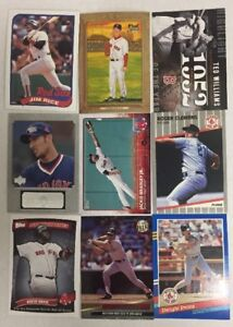 BOSTON-RED-SOX-100-Different-Card-Team-Lot-CLEMENS-ORTIZ-NOMAR-1980-2015