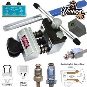 Brake-Pipe-Flaring-Tool-for-3-16-034-Copper-Kunifer-Steel-Brake-Pipes-SAE-Double