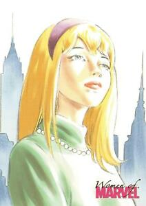 GWEN-STACY-Women-of-Marvel-2008-BASE-Trading-Card-19