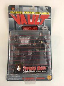 1998-MARVEL-SUPER-VILLAINS-THE-VAULT-TYPHOID-MARY-ACTION-FIGURE-TOY-BIZ-NIP-VTG