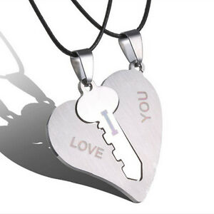 1-Pair-I-Love-You-Lock-Key-Heart-Stainless-Steel-Pendant-for-Couple-Necklace-US