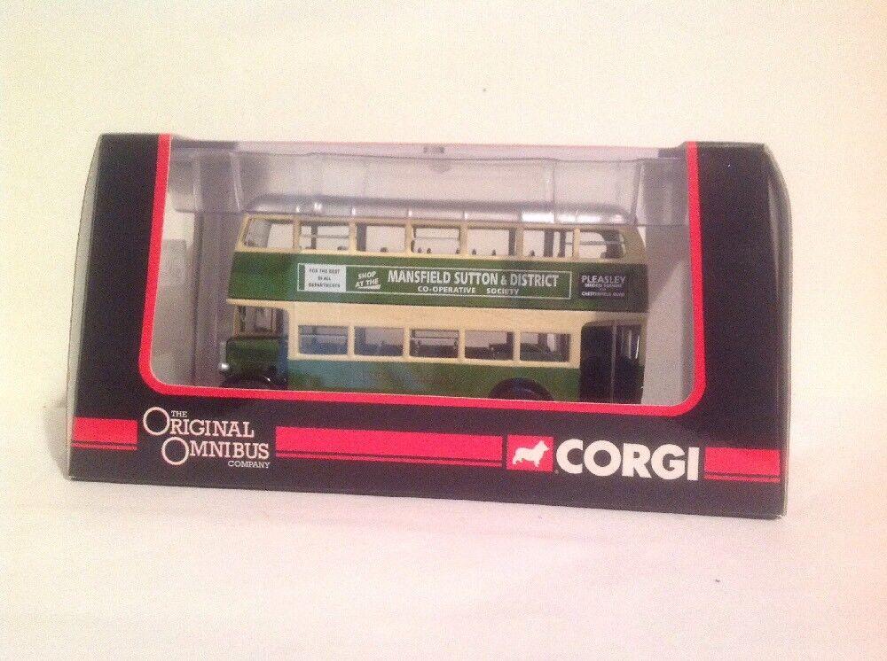 Corgi OM40405B AEC Regent Mansfield District Traction Co Ltd Ed No. 0001 of 1000