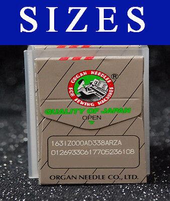 10pcs ORGAN Needle 15x1 HAx1 130 for Bernina 718 719 727 730 731 732 800 802 803